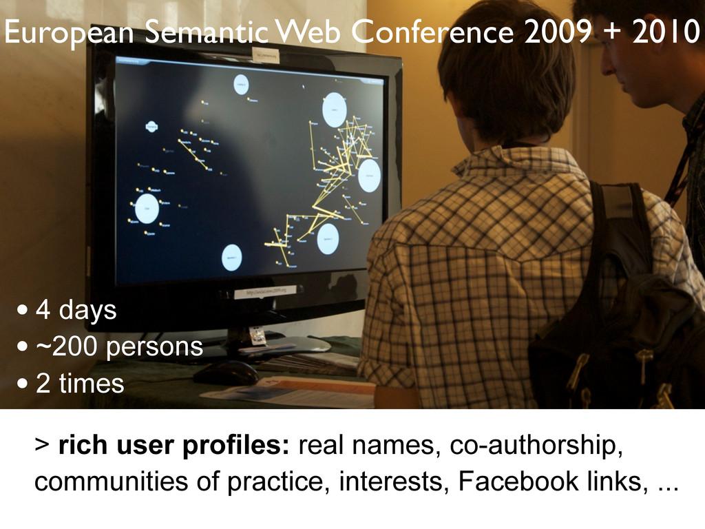 European Semantic Web Conference 2009 + 2010 > ...