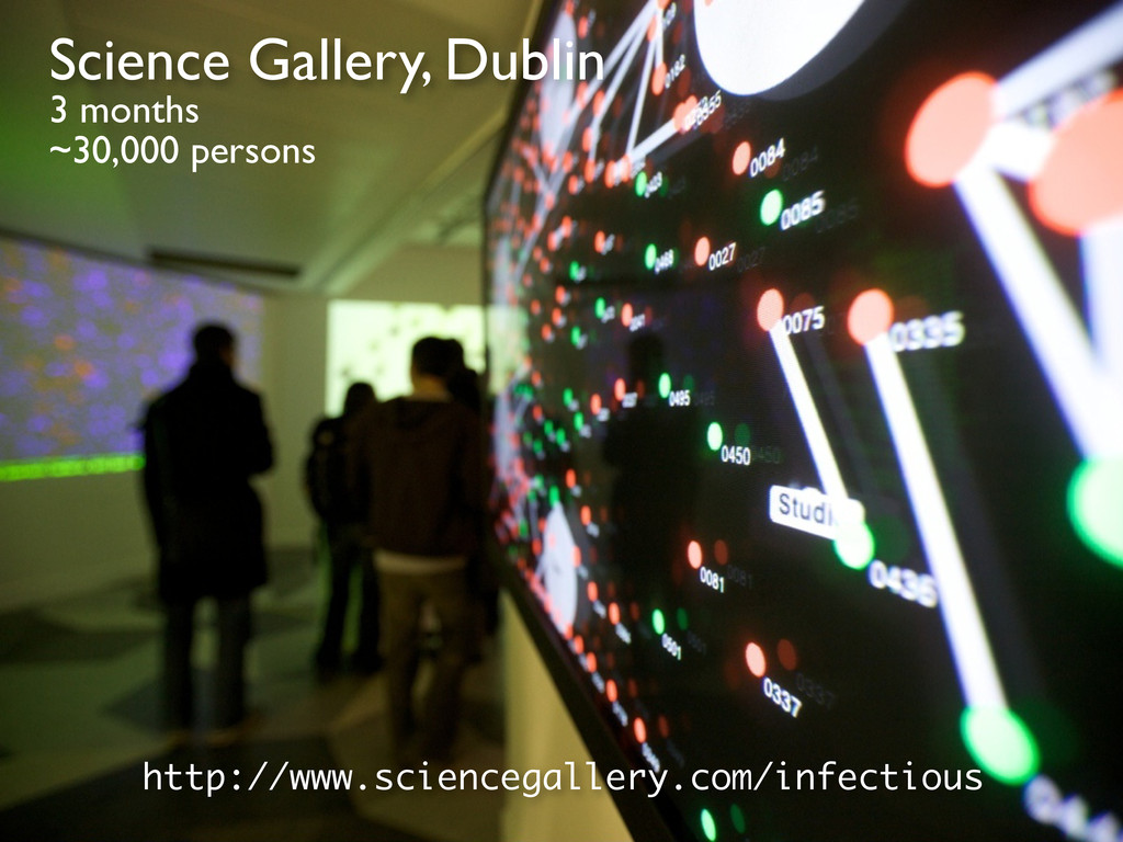 http://www.sciencegallery.com/infectious Scienc...