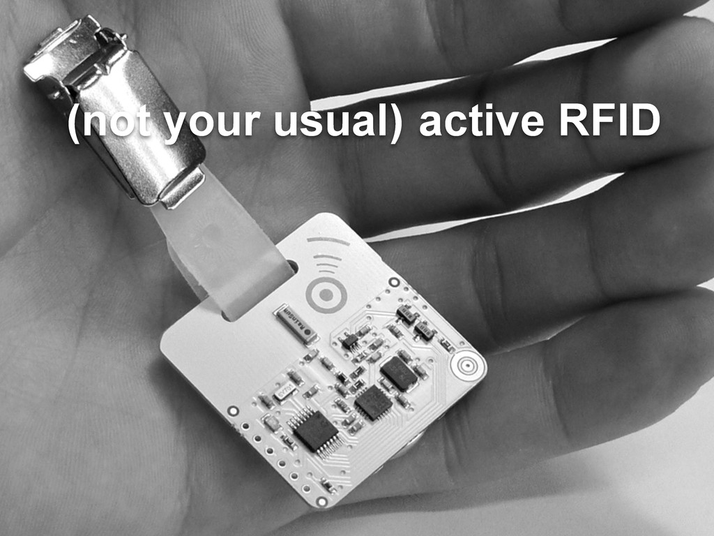 active RFID (not your usual)