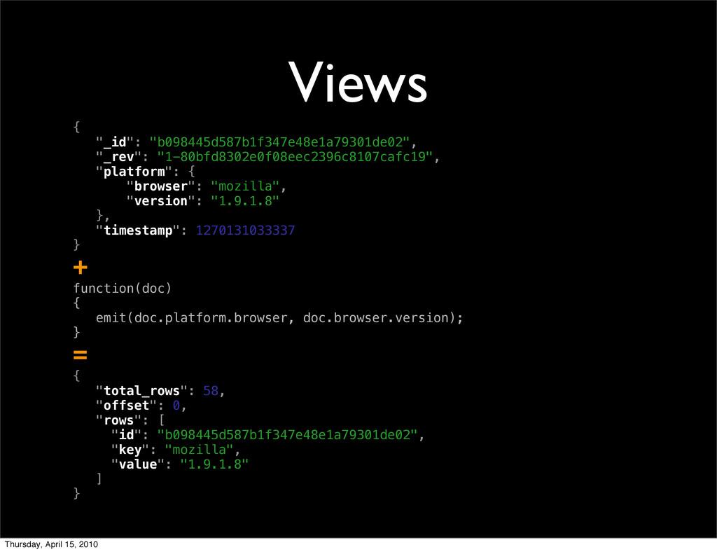 """Views { """"_id"""": """"b098445d587b1f347e48e1a79301de0..."""