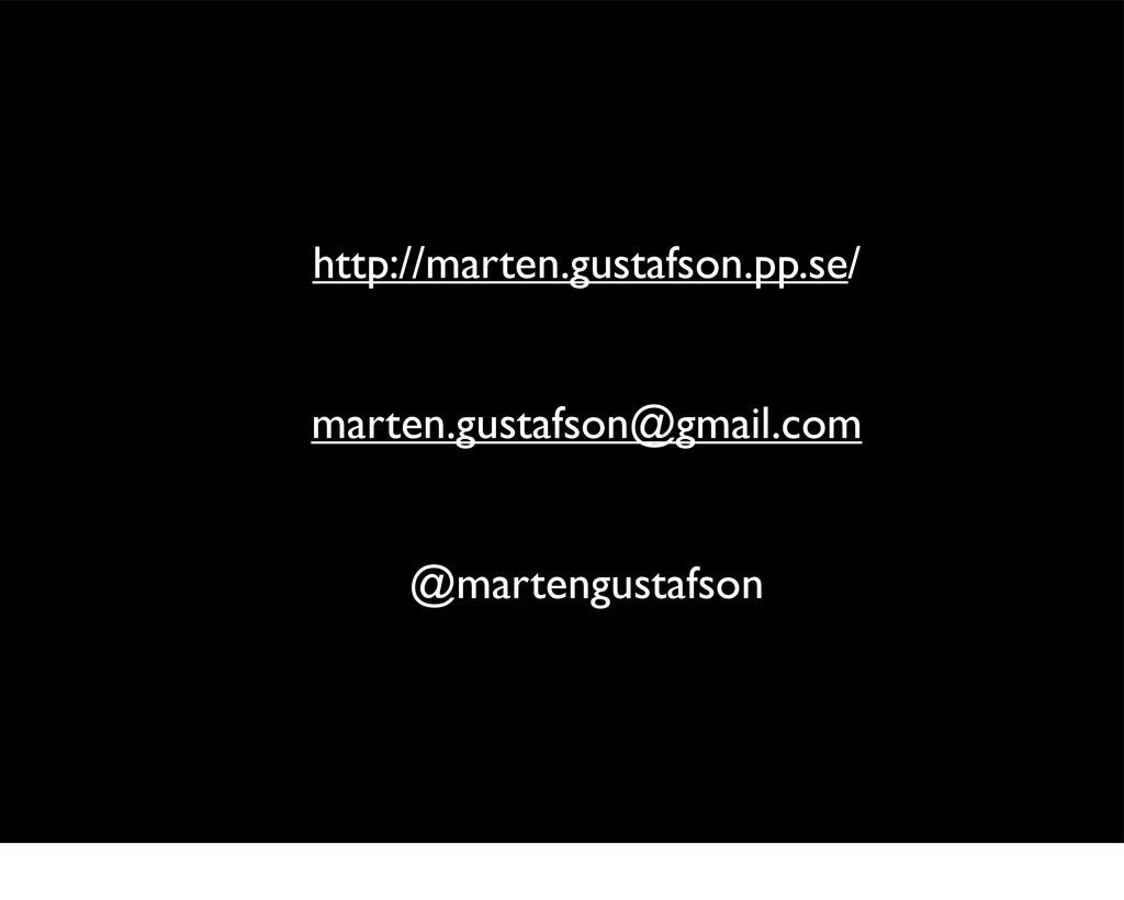 http://marten.gustafson.pp.se/ marten.gustafson...