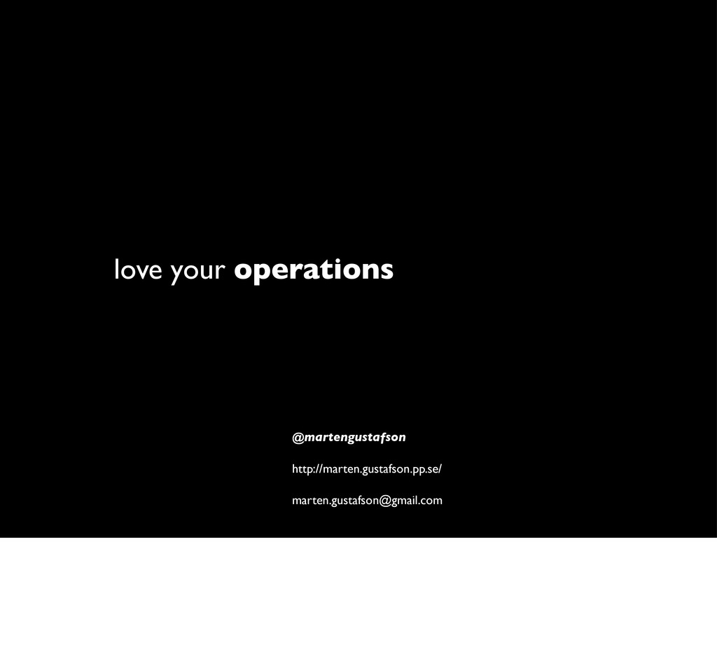 love your operations @martengustafson http://ma...
