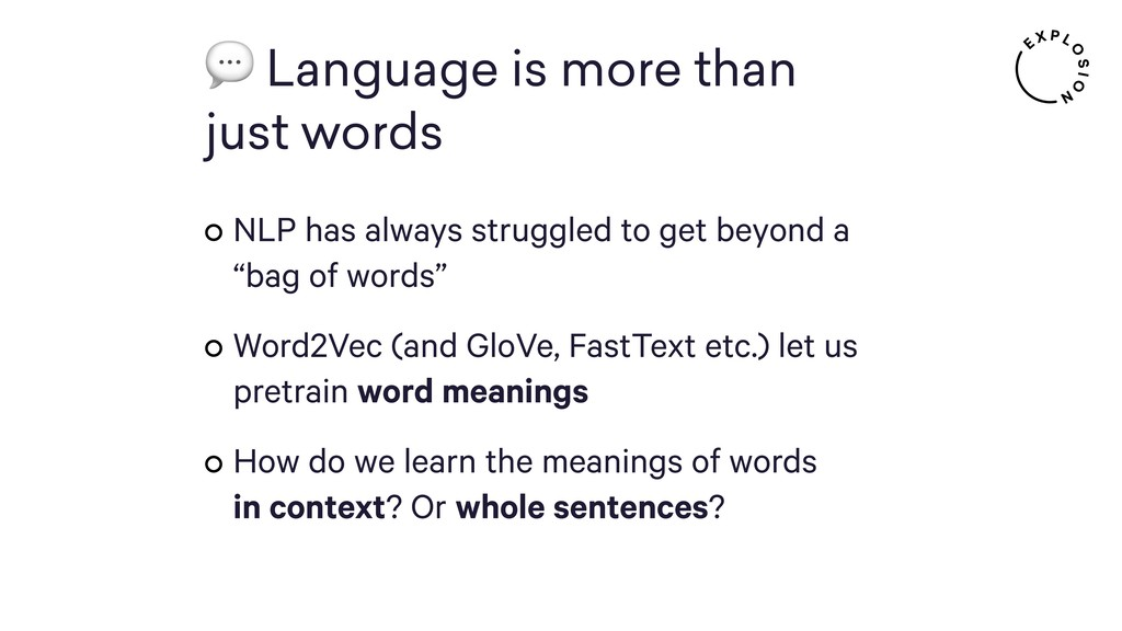 Language is more than  just words NLP has alw...