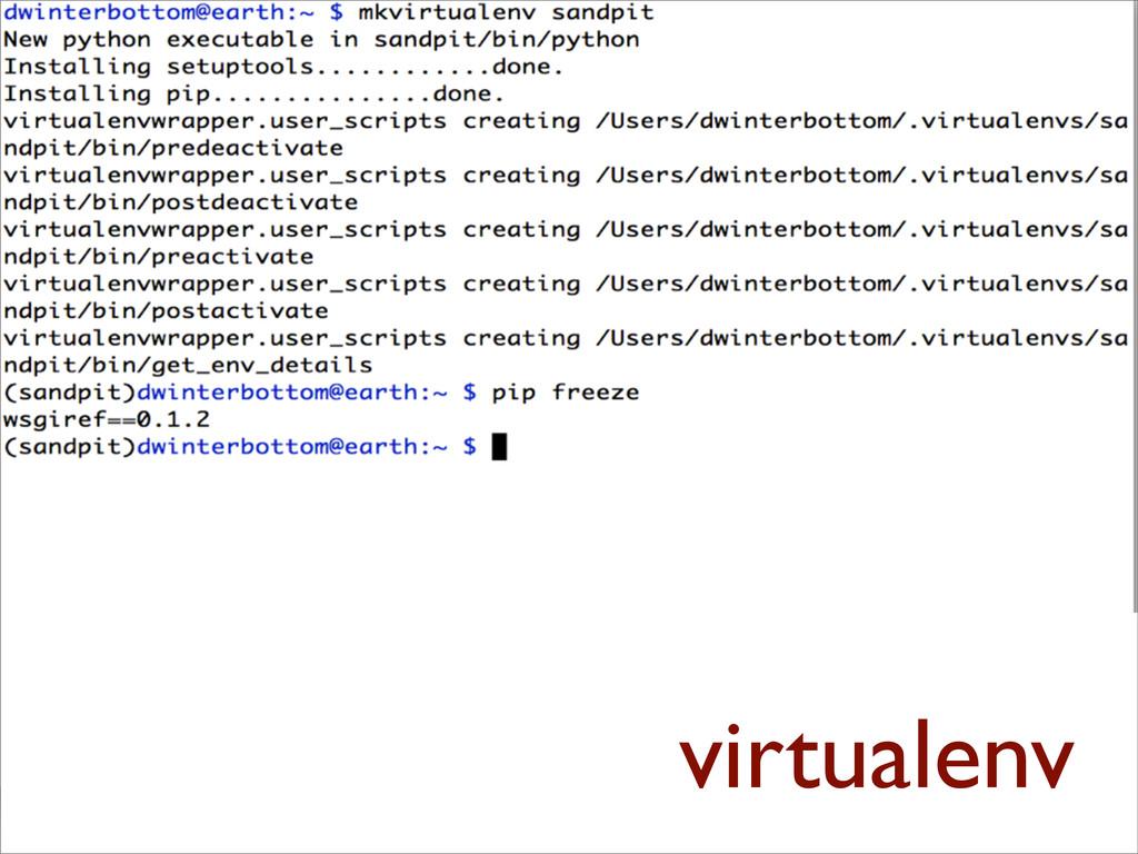 virtualenn •virtualenvwrapper •workon django vi...