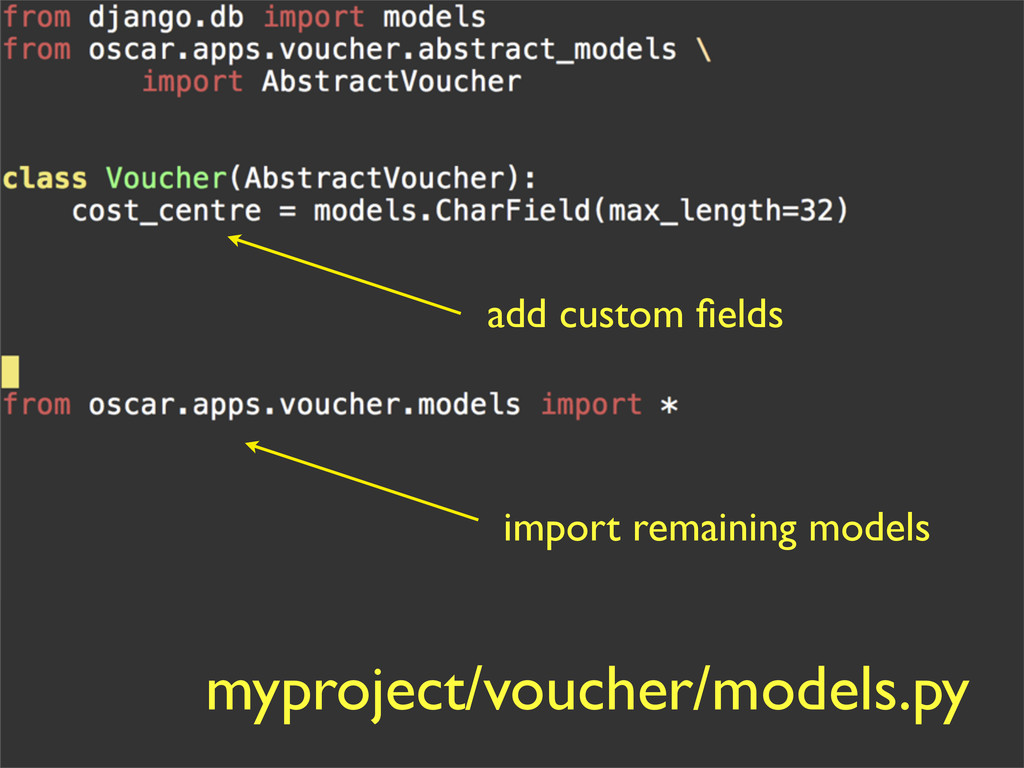 add custom fields myproject/voucher/models.py im...
