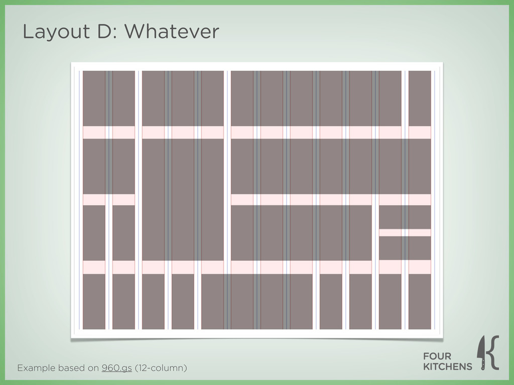 Example based on 960.gs (12-column) Layout D: W...