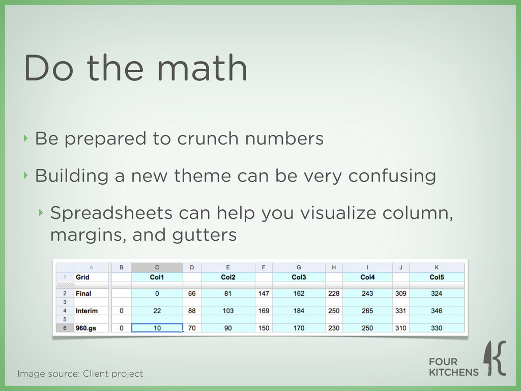 Image source: Client project Do the math ‣ Be p...