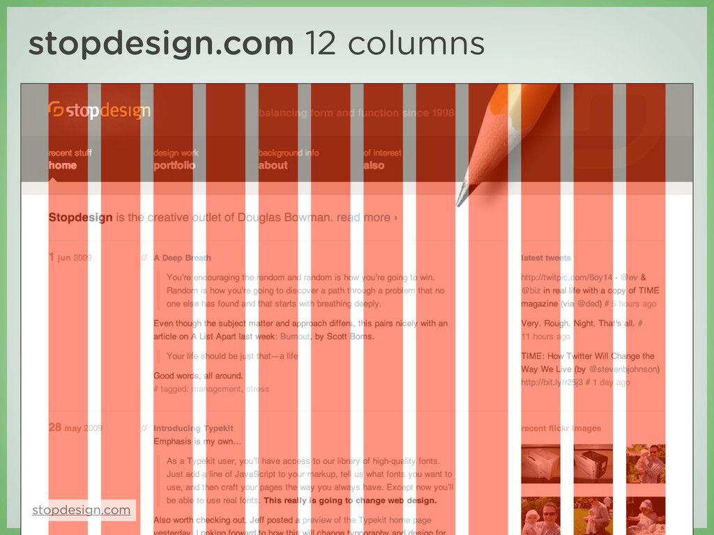 stopdesign.com 12 columns stopdesign.com