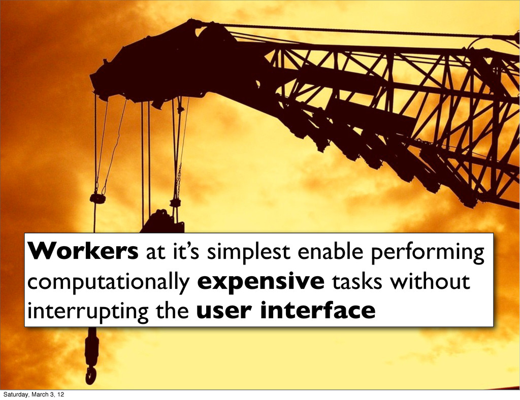 Workers at it's simplest enable performing comp...