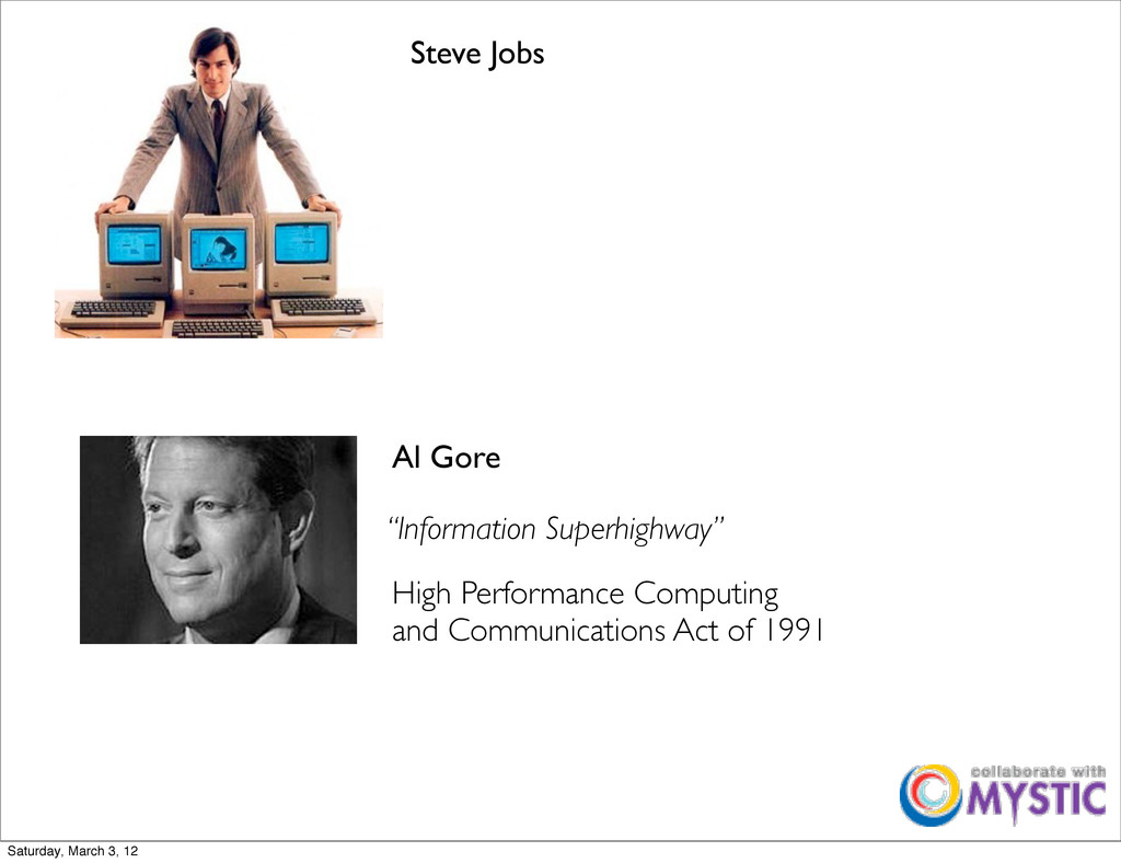 Al Gore Steve Jobs High Performance Computing a...