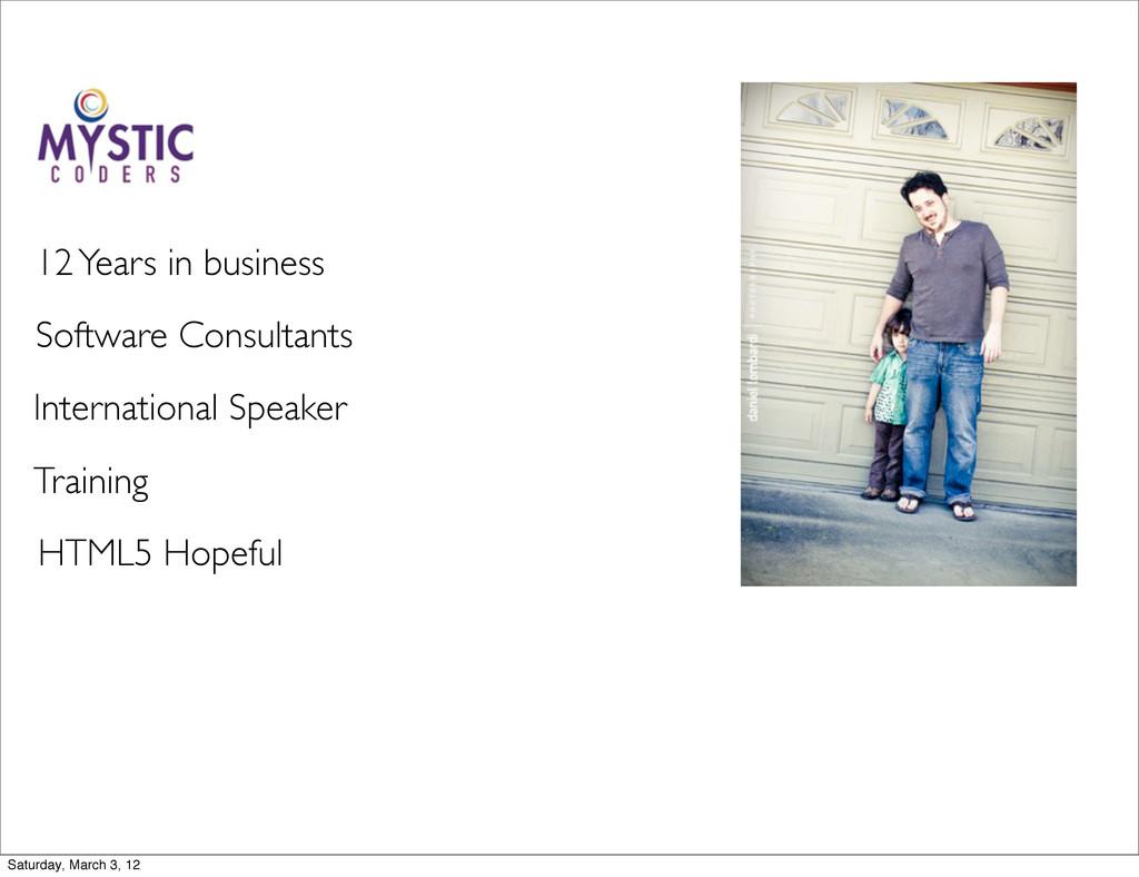 Software Consultants International Speaker Trai...