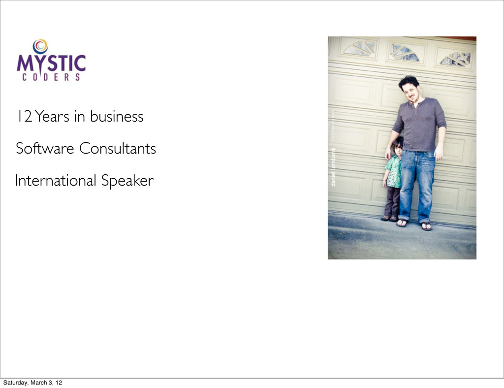 Software Consultants International Speaker 12 Y...