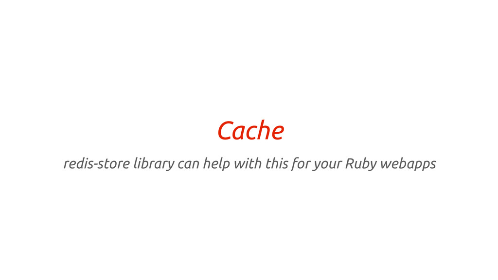 Cache redis-store library can help with this fo...