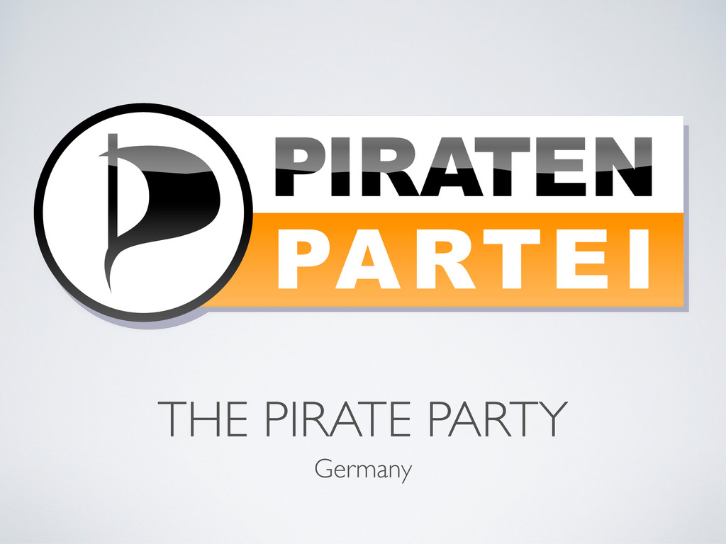 THE PIRATE PARTY Germany