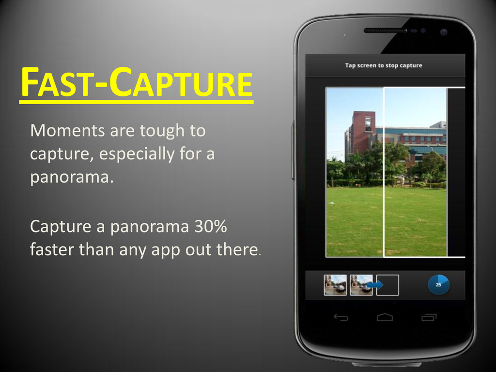 FAST-CAPTURE Moments are tough to capture, espe...