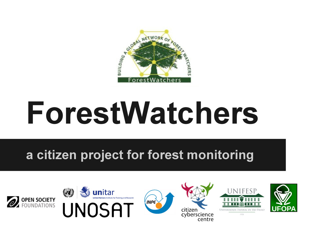 ForestWatchers a citizen project for forest mon...