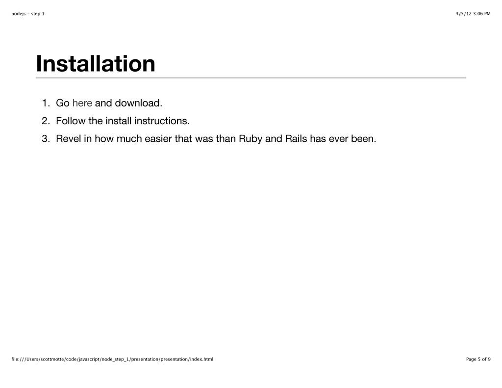 3/5/12 3:06 PM nodejs - step 1 Page 5 of 9 file...