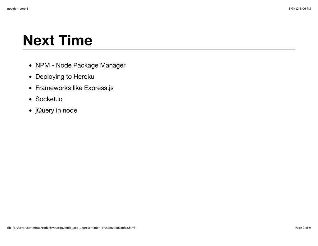 3/5/12 3:06 PM nodejs - step 1 Page 9 of 9 file...