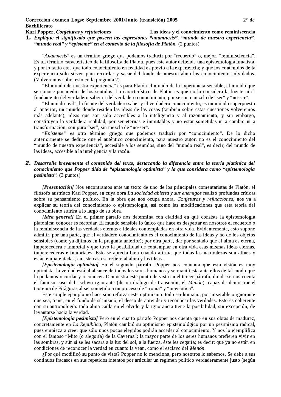 Corrección examen Logse Septiembre 2001/Junio (...