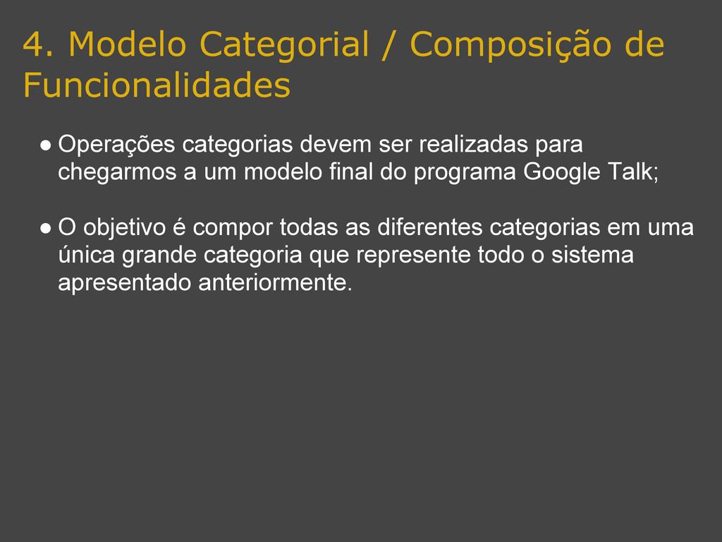 4. Modelo Categorial / Composição de Funcionali...