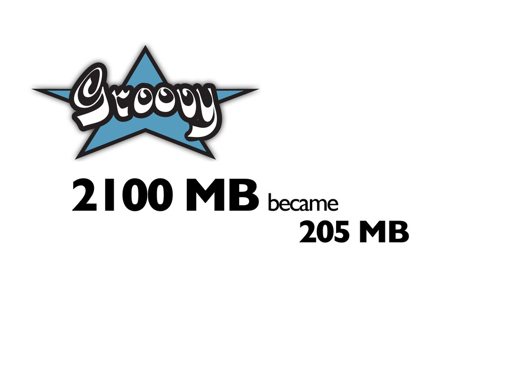 2100 MB became 205 MB Act I