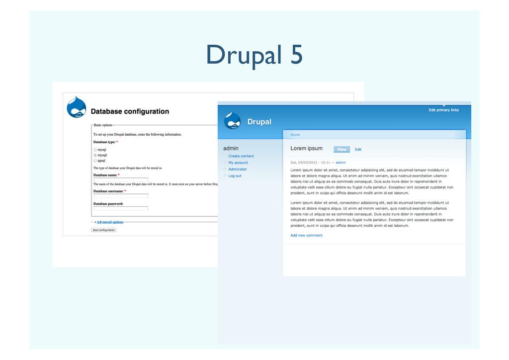 Drupal 5