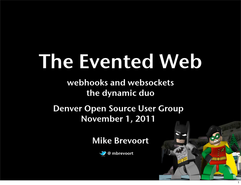 The Evented Web webhooks and websockets the dyn...