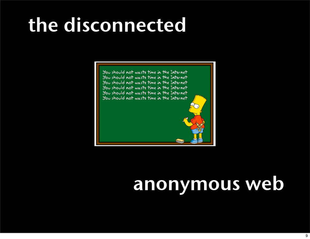 anonymous web the disconnected 9
