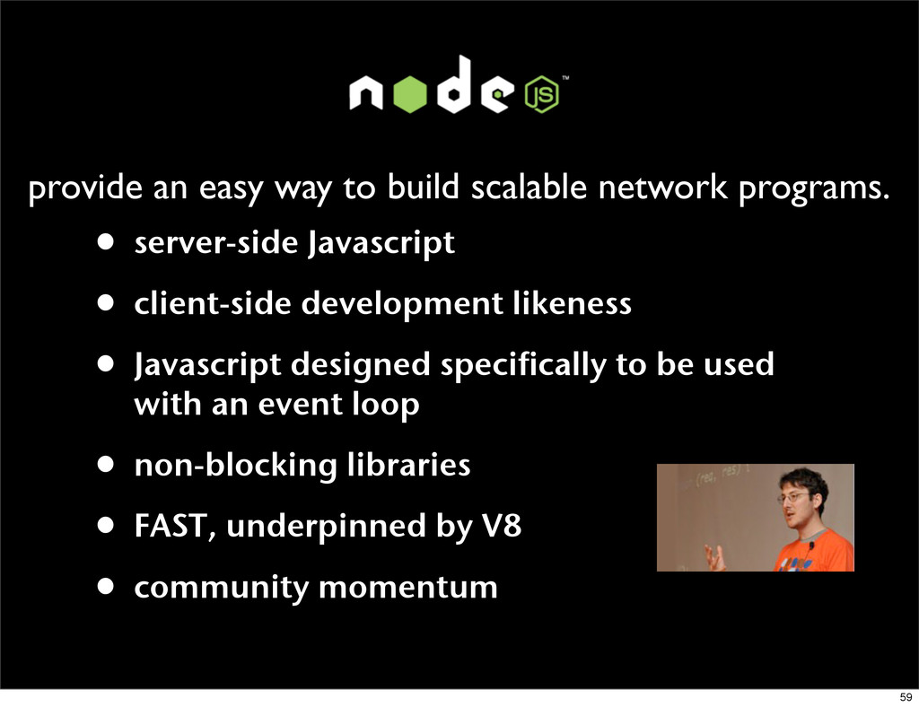 provide an easy way to build scalable network p...