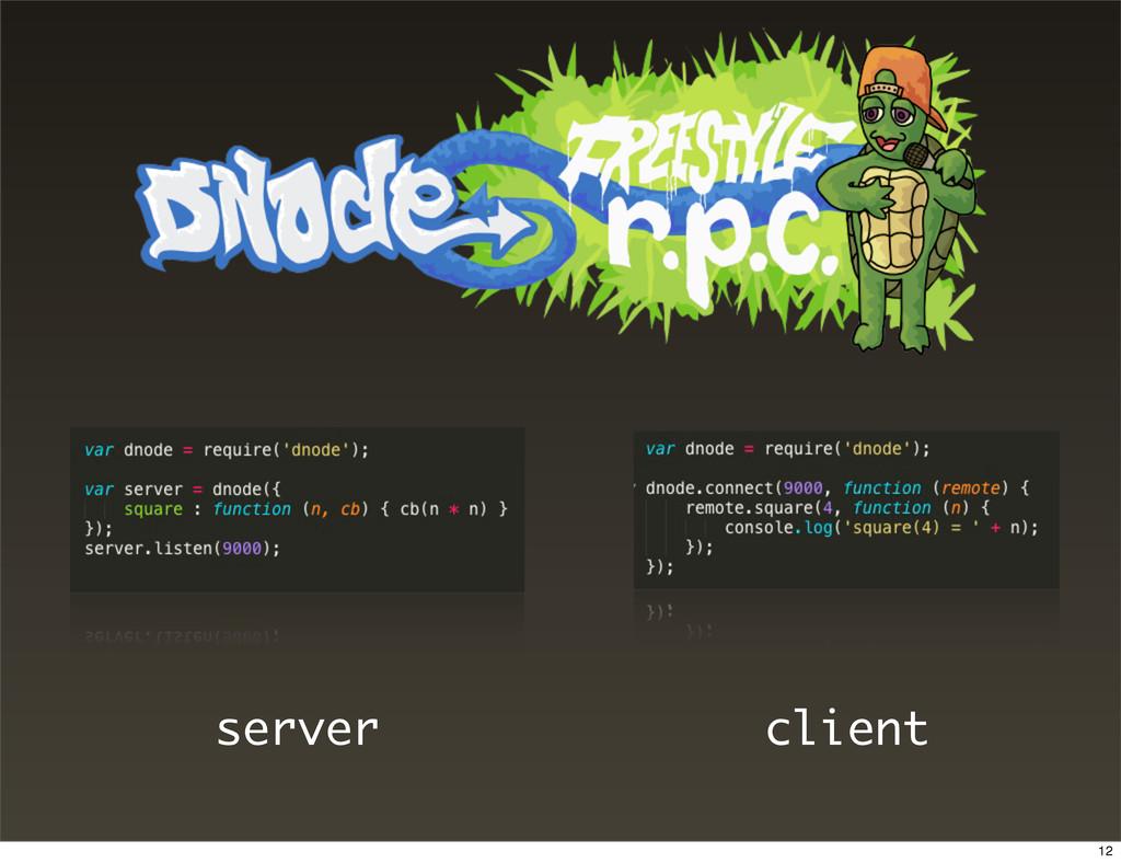 server client 12