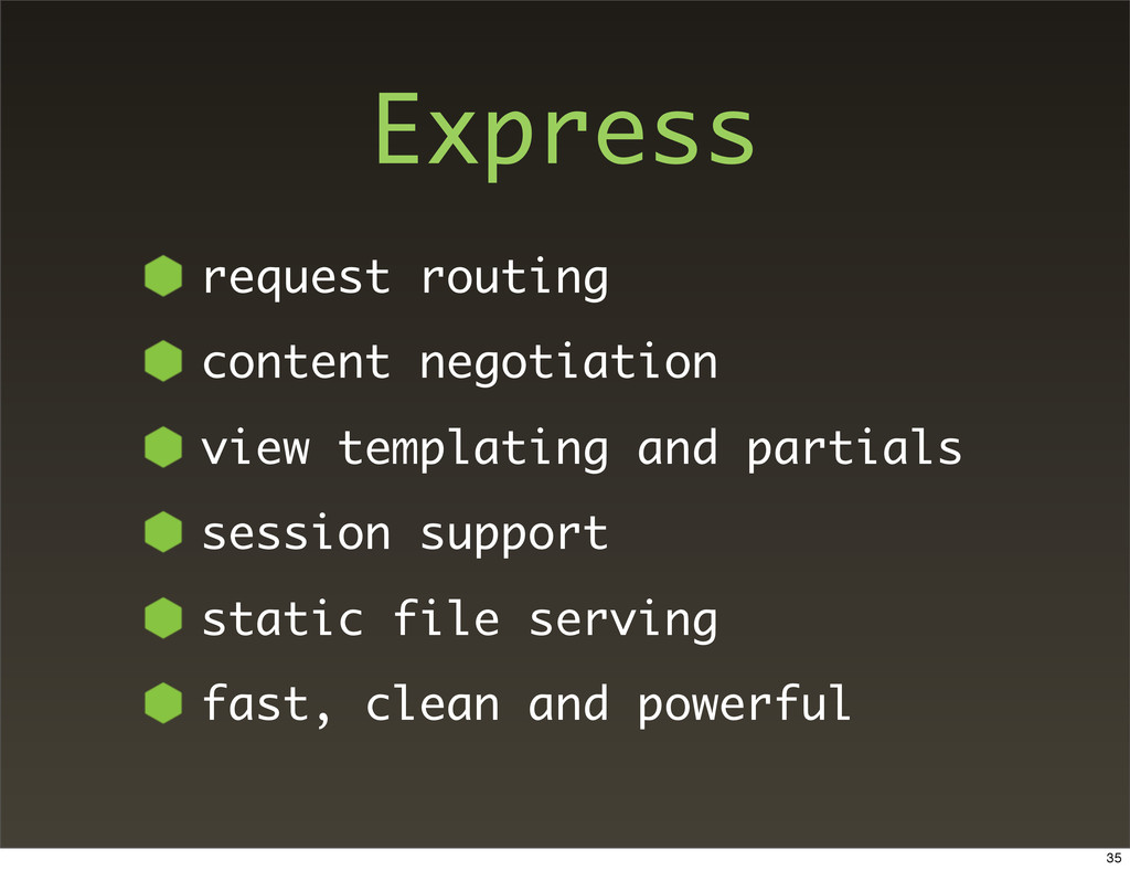 Express request routing content negotiation vie...