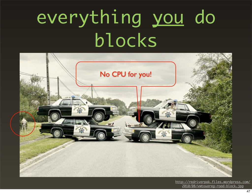 everything you do blocks No CPU for you! http:/...