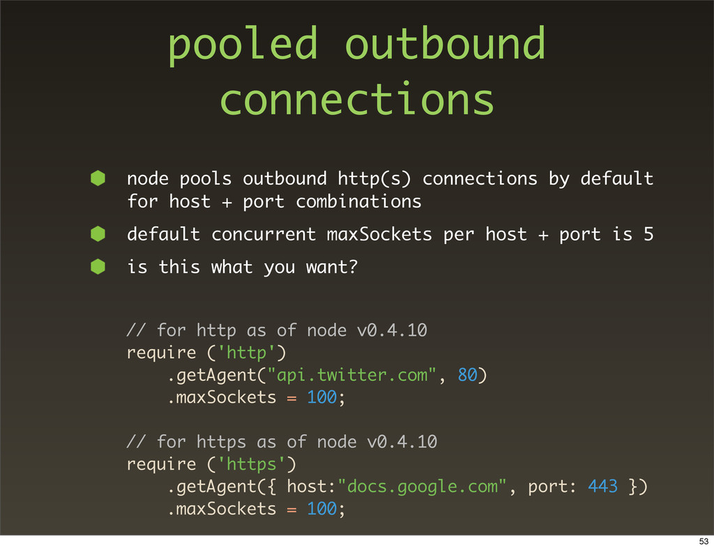 pooled outbound connections node pools outbound...