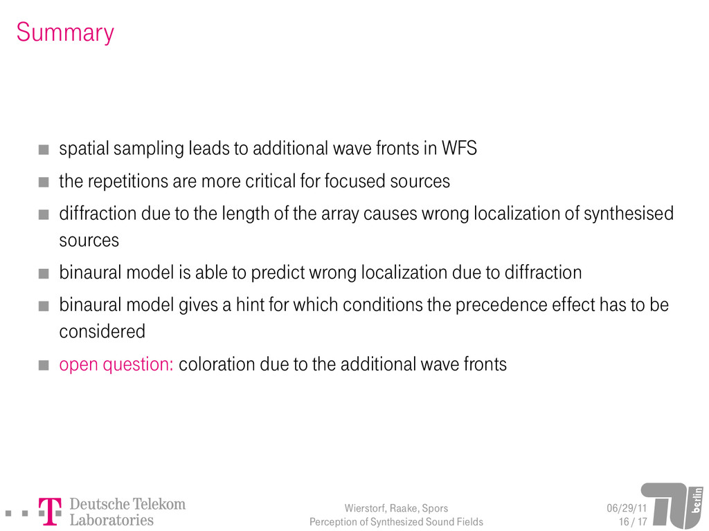 Summary spatial sampling leads to additional wa...
