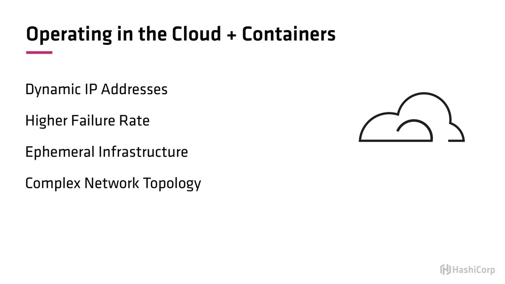 Operating in the Cloud + Containers Dynamic IP ...