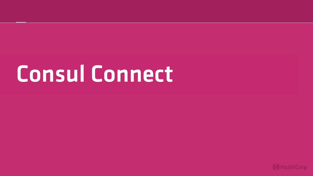 Consul Connect