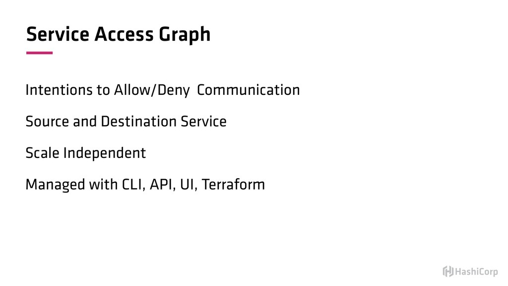 Service Access Graph Intentions to Allow/Deny C...