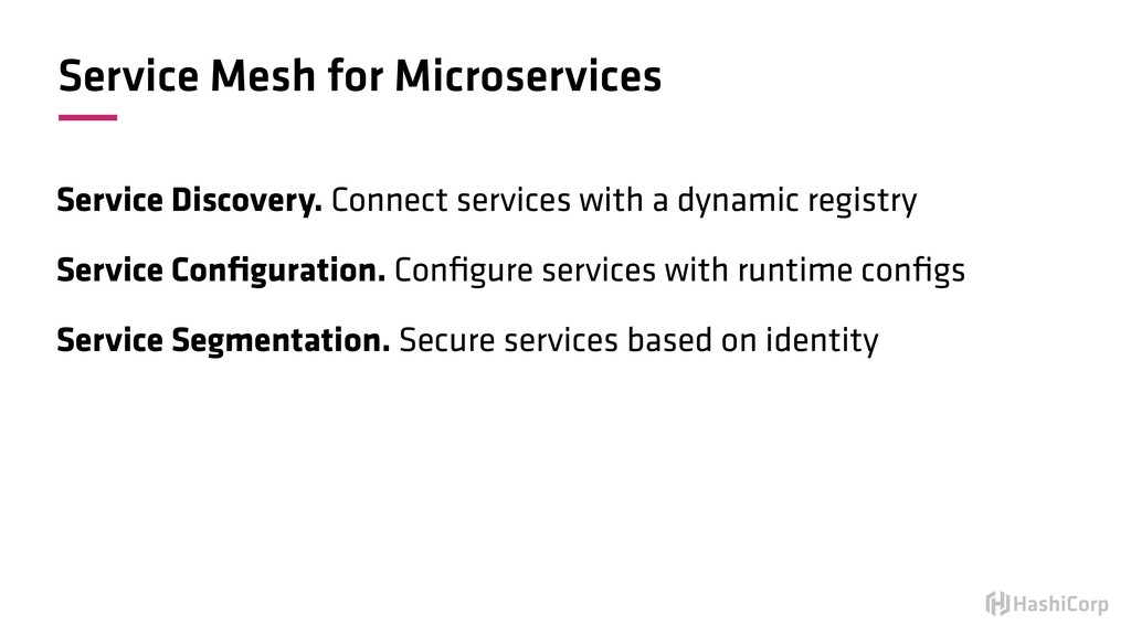 Service Mesh for Microservices Service Discover...