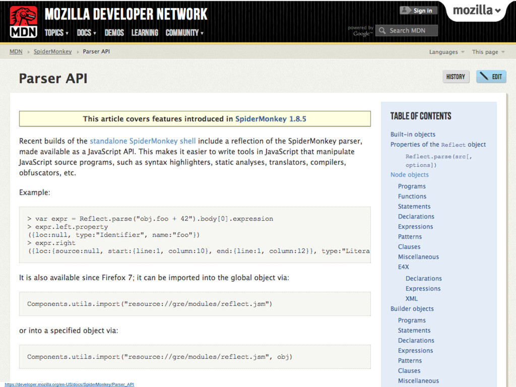 https://developer.mozilla.org/en-US/docs/Spider...
