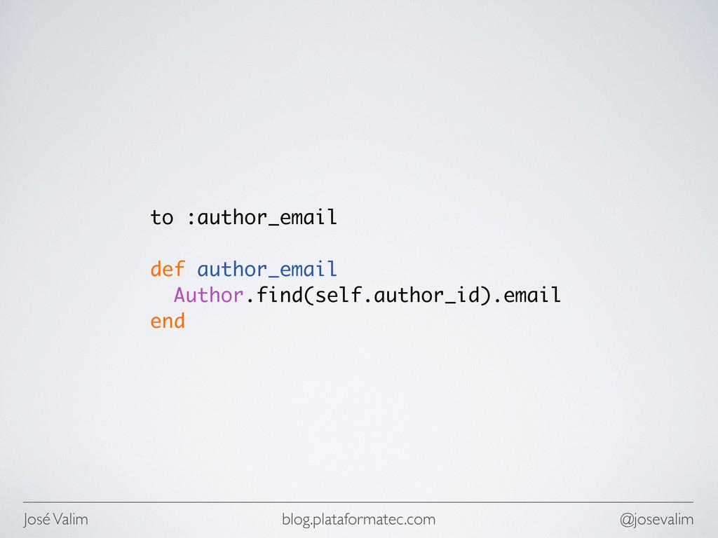 José Valim @josevalim blog.plataformatec.com to...