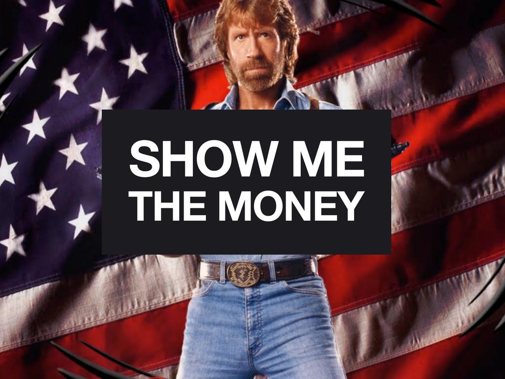 THE MONEY SHOW ME