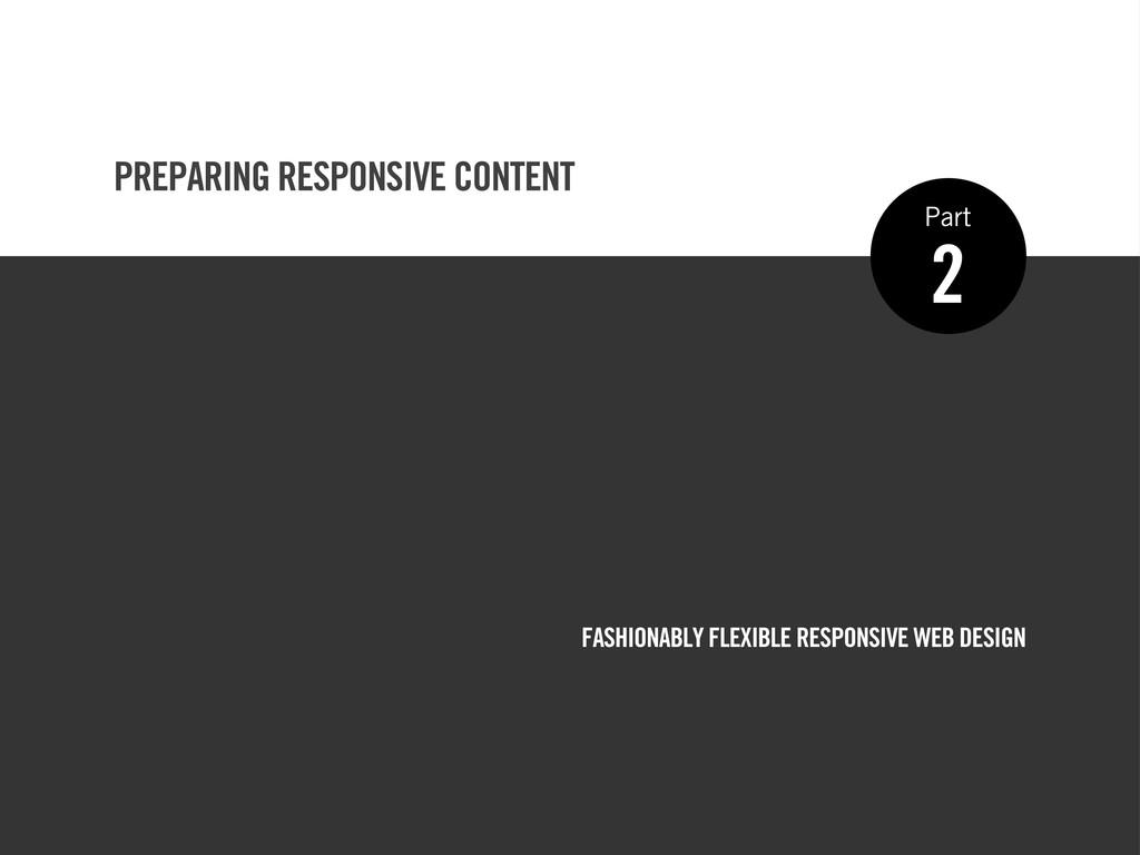 FASHIONABLY FLEXIBLE RESPONSIVE WEB DESIGN 2 Pa...