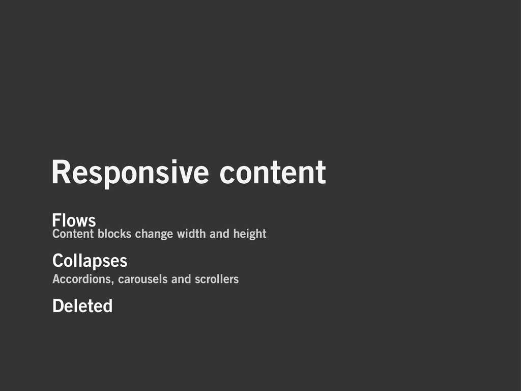 Responsive content Deleted Collapses Accordions...