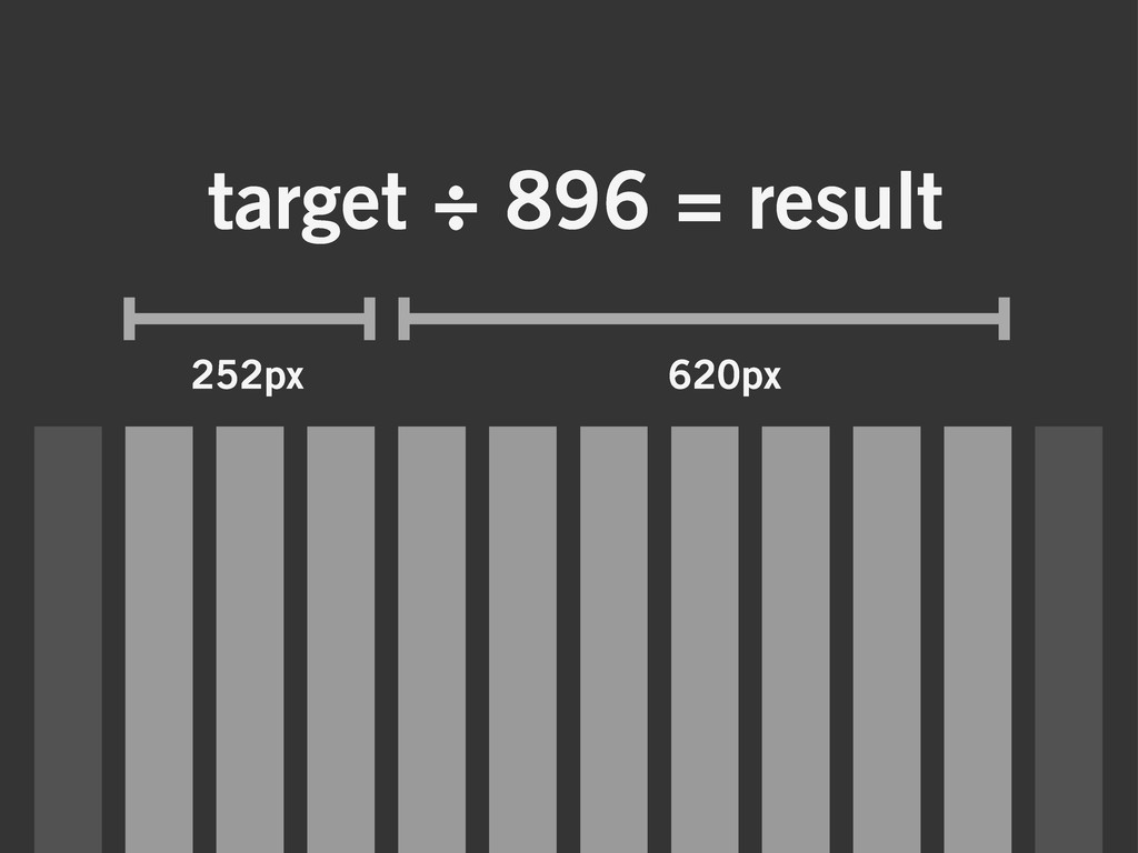 target ÷ 896 = result 252px 620px