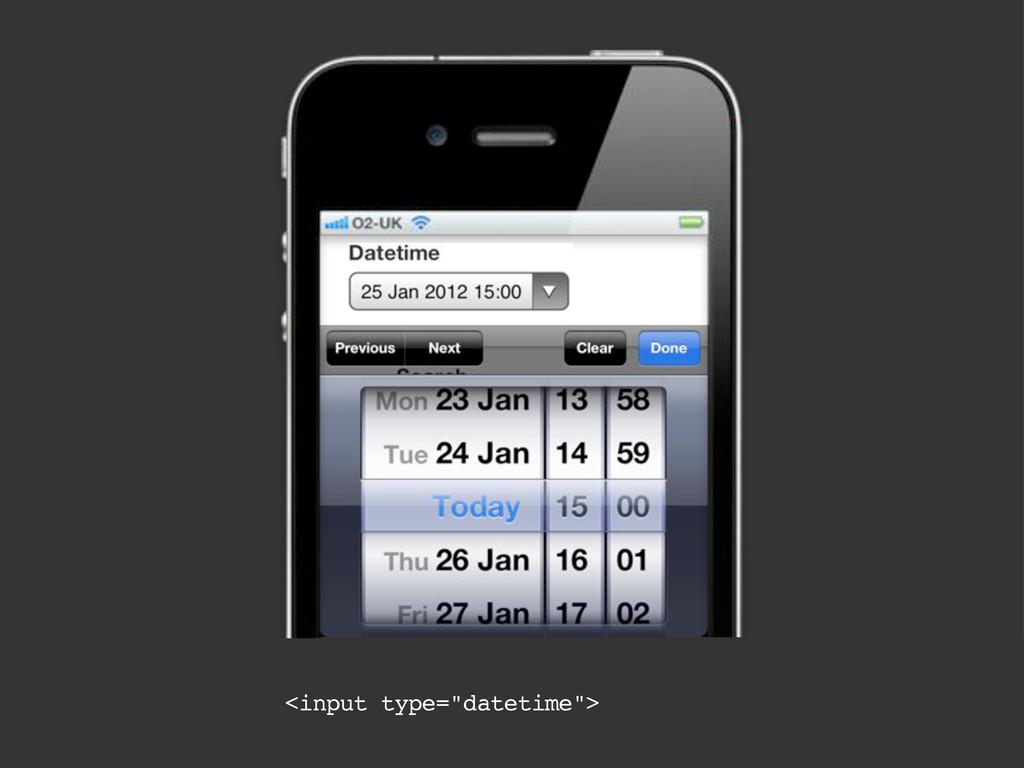 "<input type=""datetime"">"