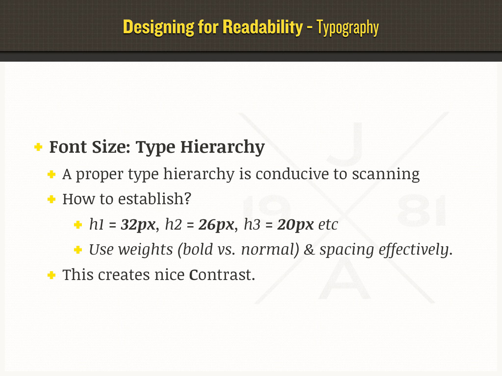 Designing for Readability - Typography Font Siz...