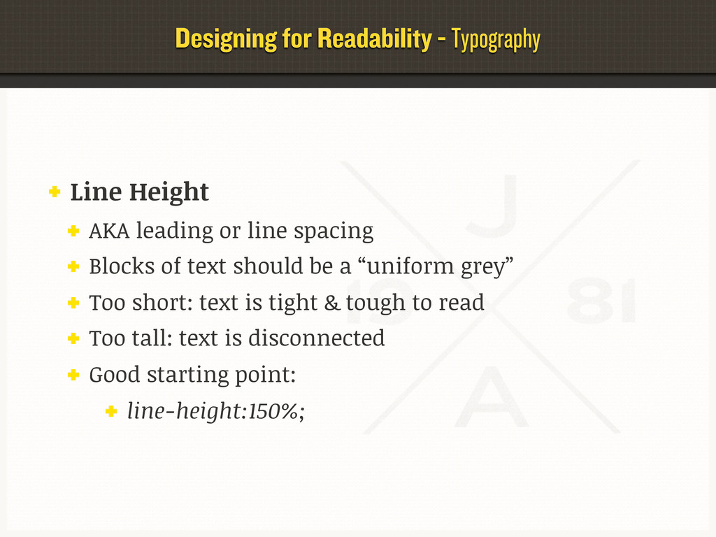 Designing for Readability - Typography Line Hei...