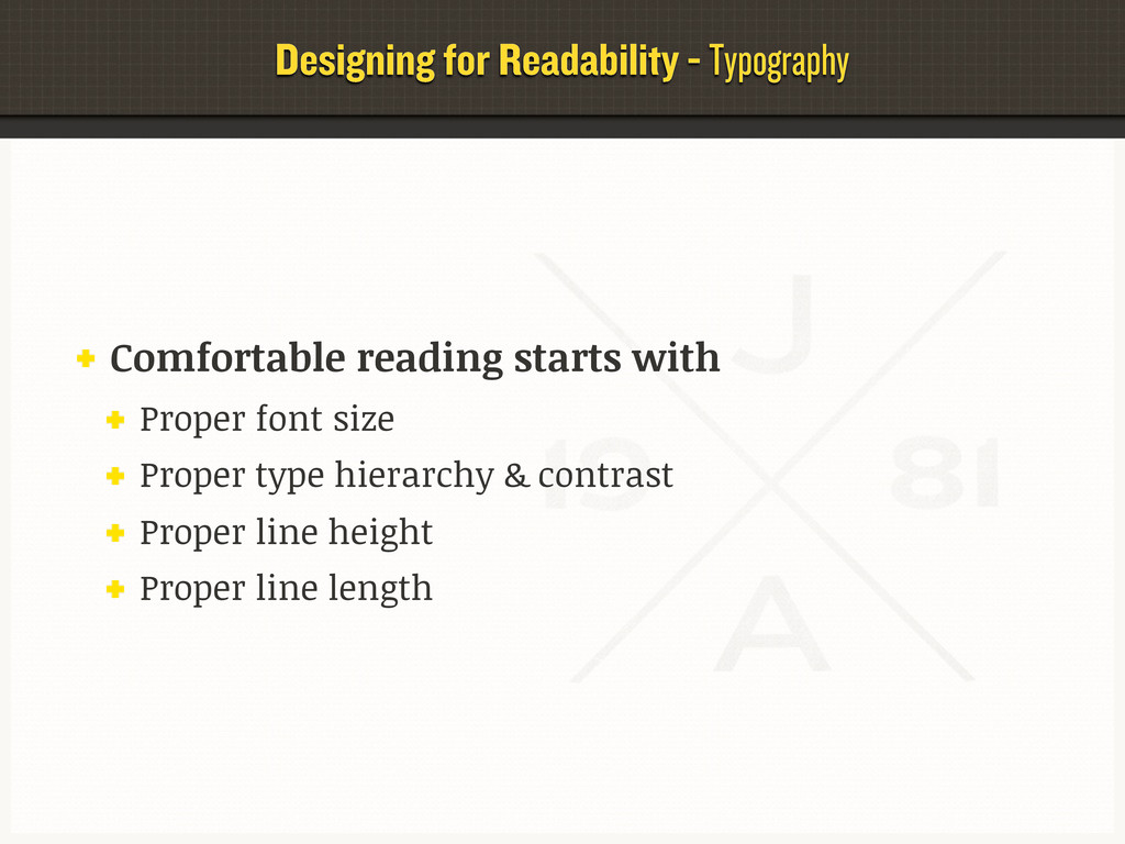 Designing for Readability - Typography Comforta...