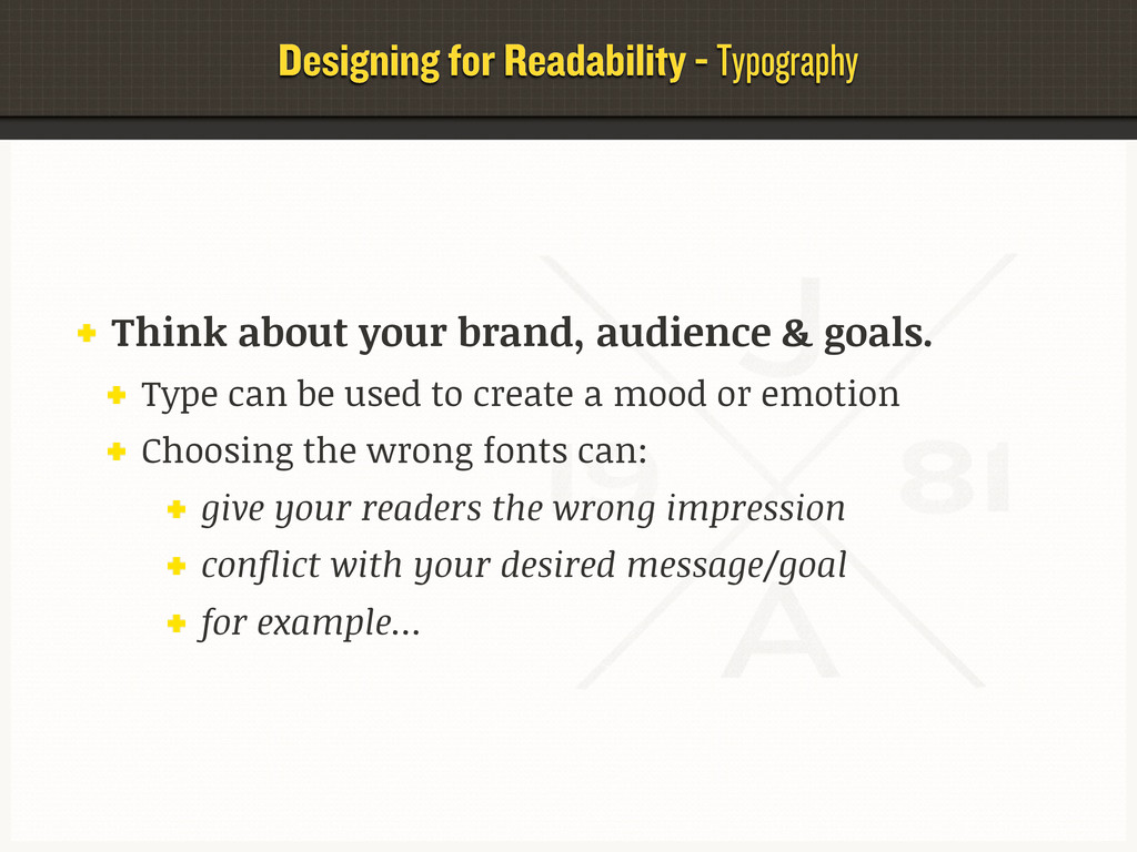 Designing for Readability - Typography Think ab...