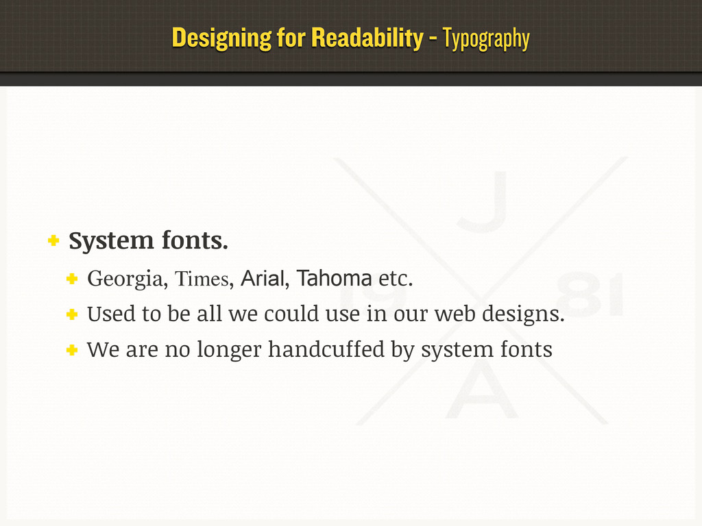 Designing for Readability - Typography System f...